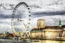 The London Eye Art von David Pyatt