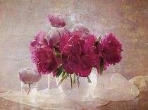 peonies and roses 2 by Franziska Rullert