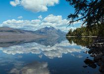 Lake Mcdonald Reflections von John Bailey