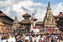 Bhaktapur street festival 2012, Nepal by asiandream
