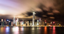 Hong Kong stunning skyline von asiandream