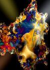 Mineral-mit-lichtreflexen