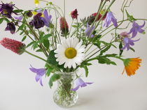 Strauß mit Wildblumen von Heike Rau