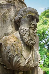 Memphis Elmwood Cemetery - Resting On His Laurels by Jon Woodhams