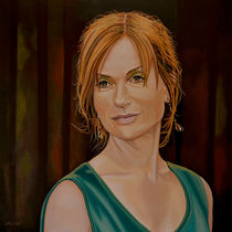 Isabelle-huppert-painting