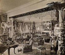 The Drawing Room, Wickham Hall, Kent, 1897 by Bridgeman Art