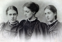 Stella, Vanessa and Virginia Stephen, c1896 by Bridgeman Art