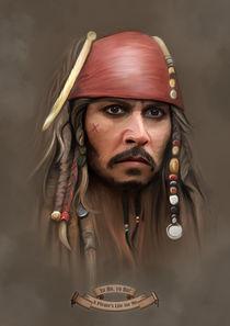 Jack Sparrow von Ivan Pawluk