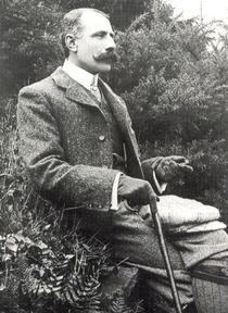 Sir Edward Elgar 1857-1934 by Bridgeman Art