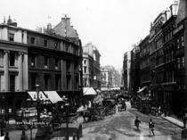 Gracechurch Street, London, c1890 by Bridgeman Art
