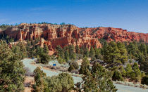 Red Canyon State Park by John Bailey