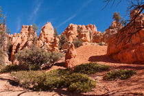 Another World At Red Canyon State Park by John Bailey