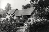 Anne Hathaway`s cottage bw photo by Bridgeman Art