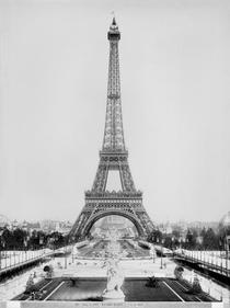 The Eiffel Tower 1887-89 by Bridgeman Art