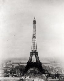 Construction of the Eiffel Tower, 31st March 1889  von Bridgeman Art