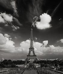 The Eiffel Tower, Paris by Antonio Jorge Nunes
