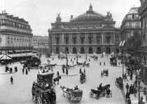 General view of the Paris Opera House von Bridgeman Art