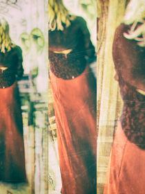 Woman in red by Gabi Hampe