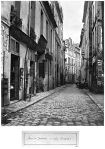 Rue du Jardinet, from passage Hautefeuille, Paris von Bridgeman Art