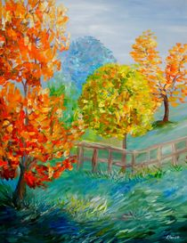 Blue-autumn