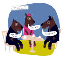 woof woof wau wau by leni-illustrations