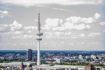 Hamburg von Oben Der Fernsehturm von Dennis Stracke