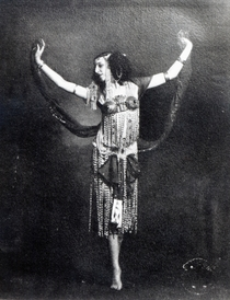 Ida Rubinstein in the role of Salome von Bridgeman Art
