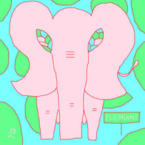 Pink-elelphant-painting-artist-anita-d-livaditis-for-childrens-rooms-and-nursuries-pastels-r-2-dot-1-12-2-star