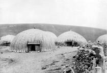 Kaffir Huts, South Africa, c1914 by Bridgeman Art