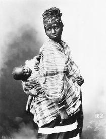 Senegalese Mother and Child, c1900 by Bridgeman Art