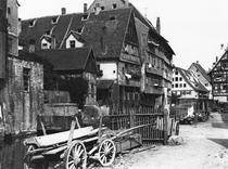 View of the Old Quarter, Ulm, c1910 by Bridgeman Art