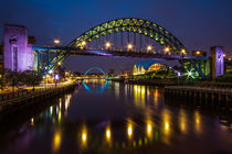The Sage and Tyne Bridge by Wayne Molyneux