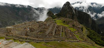 Panoramic at Machu Pichu by mariana clotta