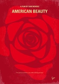 No313 My American Beauty minimal movie poster by chungkong
