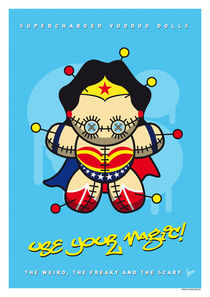 My SUPERCHARGED VOODOO DOLLS WONDER WOMAN by chungkong
