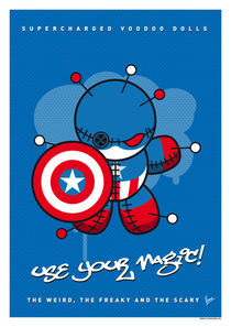 My SUPERCHARGED VOODOO DOLLS CAPTAIN AMERICA by chungkong