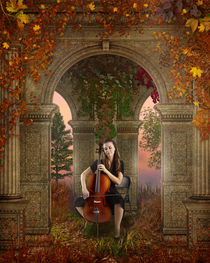 Autumn Melody by Bedros Awak