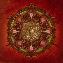Mandala Flames by Bedros Awak