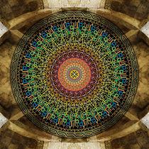 Mandala Armenian Alphabet von Bedros Awak