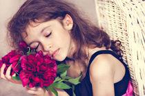 Sleeping on the flowers by Tatyana Nazarenko