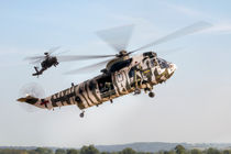 Sea King and Apache Helicopters von Steve H Clark Photography