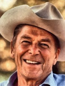 Mr. President Ronald Reagan by Vincent Monozlay
