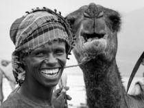 Smile (Querformat) von Frank Daske