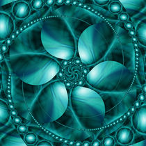 Planetenblumeblau