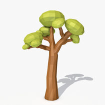 Low poly tree by andrrei