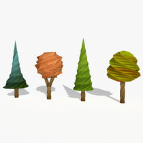 Cartoon-trees-low-poly01