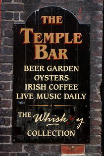 THE TEMPLE BAR - Dublin - Ireland by Jörg Sobottka