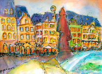 Mainz St. Spuckes vor den Markthäusern by Ingrid  Becker
