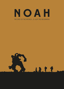 Movie Poster Noah by Falko Wolf