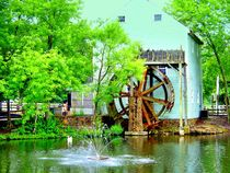 Mill at Historic Smithville  by Rick Todaro